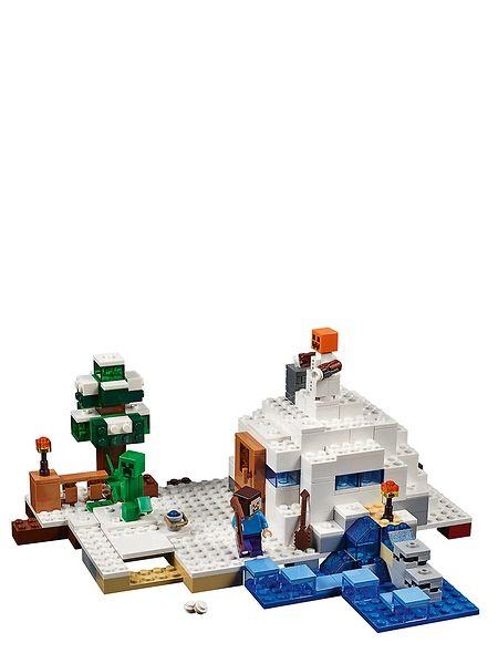 Lego Minecraft, Luminen piilopaikka