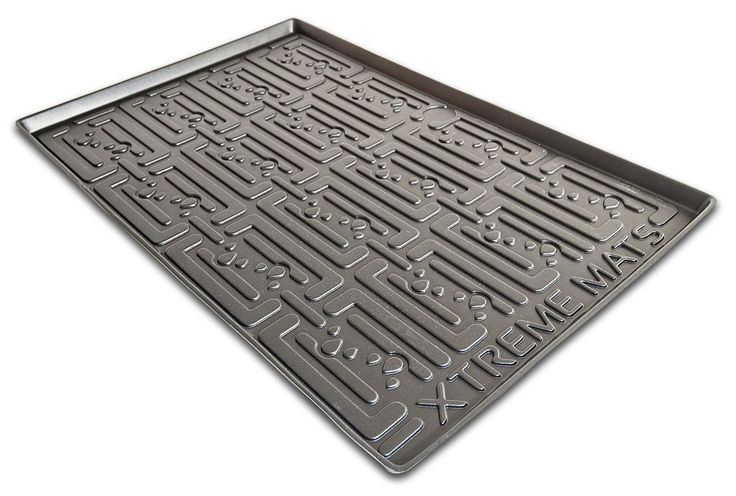 Under Sink Cabinet Mat Drip Tray Liner, Black
