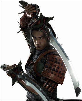 Onimusha, cool ;) Takeshi Kaneshiro