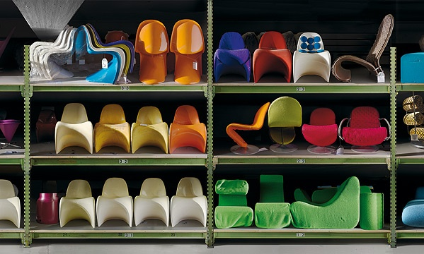 The Collection of the Vitra Design Museum at the Vitra Schaudepot.