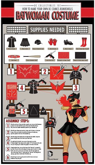 DIY Batwoman Costume
