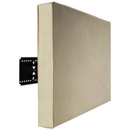 Relaunch Aggregator MI-152 Tan Outdoor Tv Cover For 50 - 52 Tvs, Beige