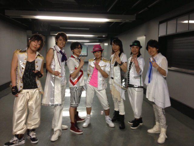 ST☆RISH voice actors (Takuma Terashima , Mamoru Miyano , Hiro Shimono and more) #Utapri