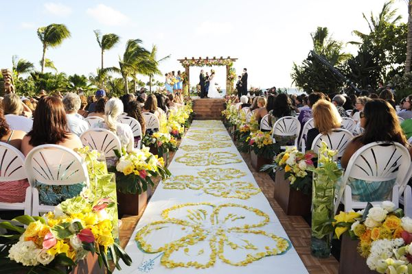 17 Best Images About Caribbean Weddings Ideas For Brides: 17 Best Ideas About Yellow Beach Weddings On Pinterest
