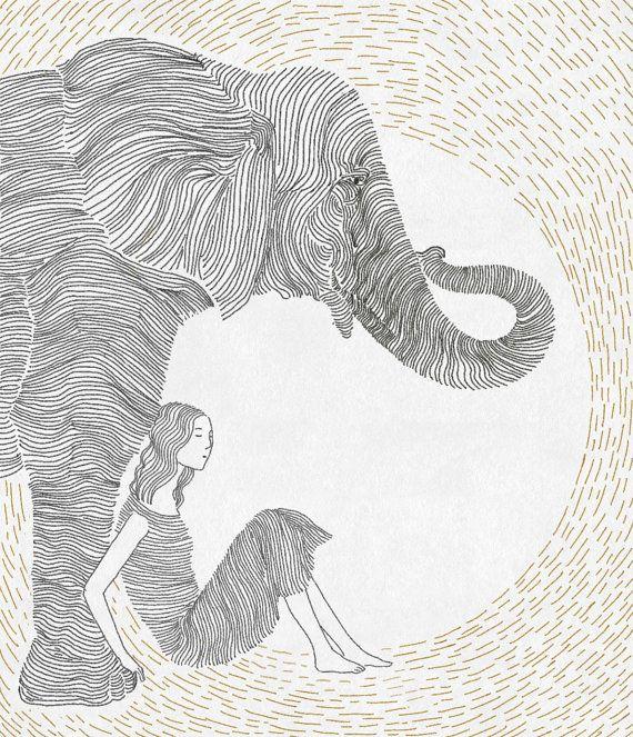 Line Drawing Ear : Best love of elephants images on pinterest elephant