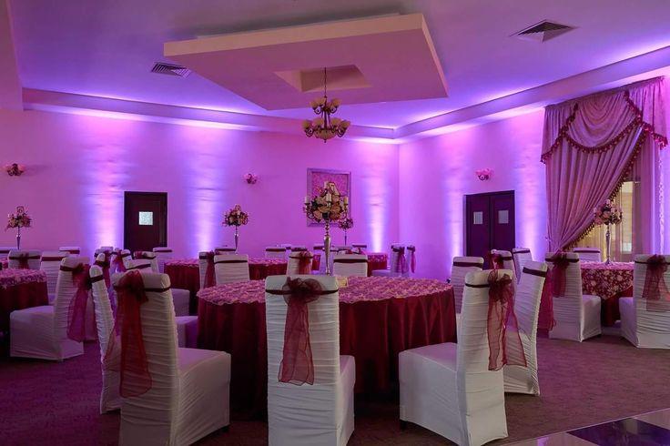 Lumini ambientale profesionale pentru nunta la Pensiunea Casablanca