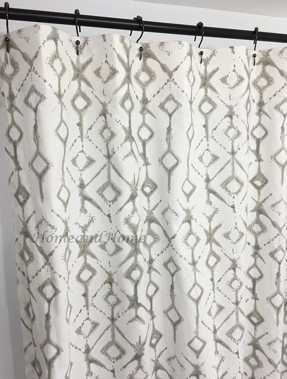 Ecru Shower Curtain Custom White Extra Long 72 X 84 108 Wide In 2018