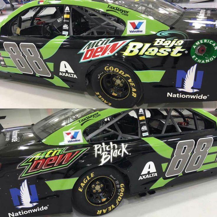 Special paint scheme for Dale Earnhardt Jr at Richmond International Raceway