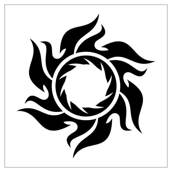 Sun Tribals Tattoo