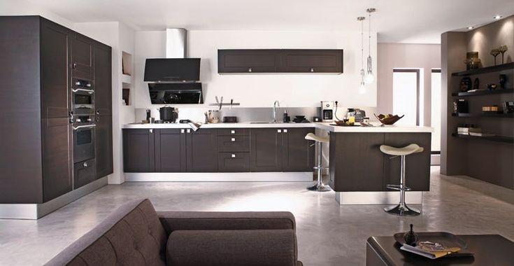 D coration salon moderne cuisine for Recherche cuisine moderne
