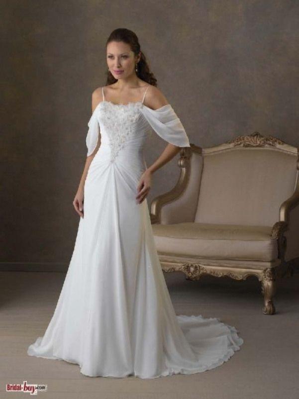 f230352e6f6a6 good idea for adding sleeves to my spaghetti strap dress....hmmmm looks sew  easy :) #alineweddingdresses #unique #aline #wedding #dresses