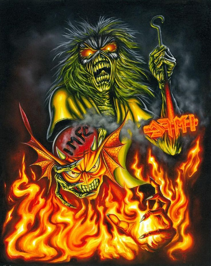 iron maiden artwork | Herve Monjeaud ArtWork/Iron Maiden/IMFC