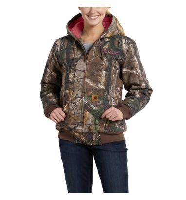 Carhartt - Product - Women's Camo Active Jac