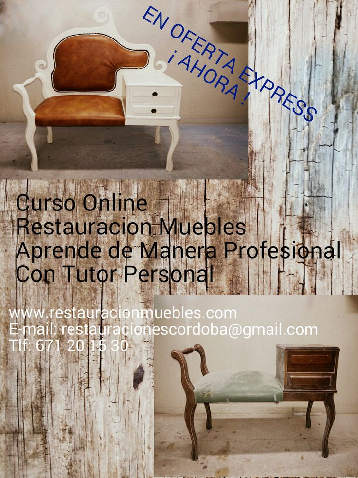 14 best curso online restauracion de muebles y maderas images on pinterest - Curso de restauracion de muebles ...