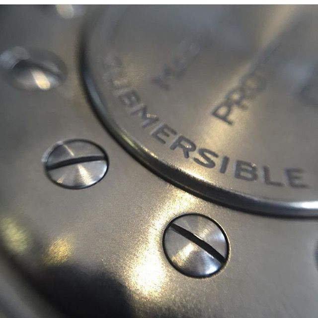 does your timepiece have a submarine inside ? 'submersible titanium pod technology'