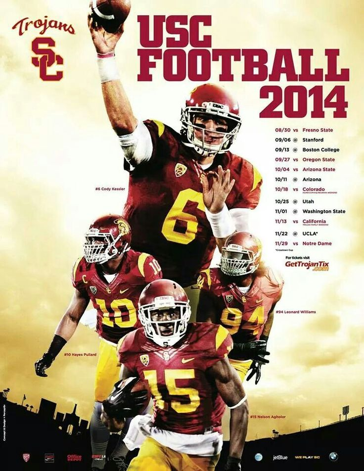 2014 USC Football Schedule
