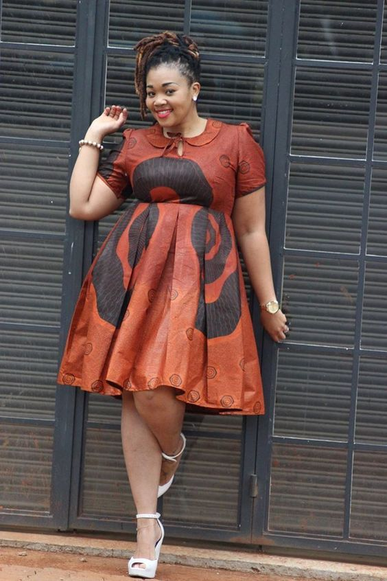 Be motivated with Ankara outfits that make you that African plus-size fashionist. These are what you need to wear to work when Ankara is your favourite