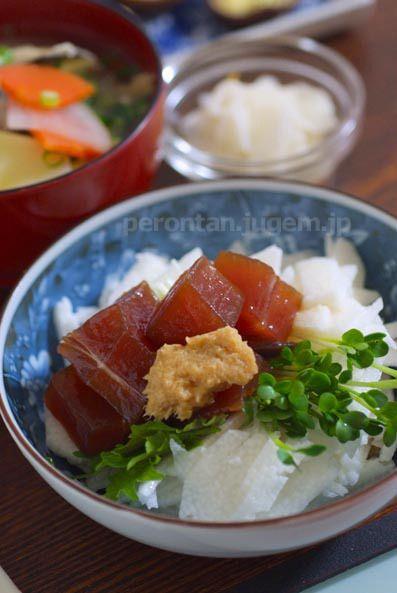 まぐろ山かけの漬け汁☆北海道の郷土料理〜三平汁 by P子さん ...
