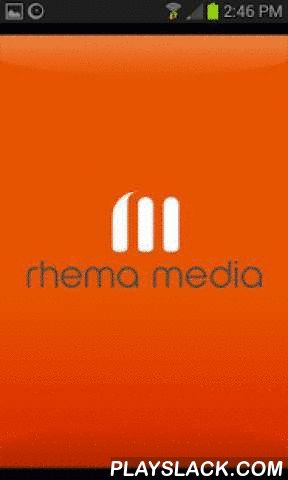 Rhema Media  Android App - playslack.com ,  Rhema Media swings open the digital doors into a world of music, news and entertainment straight to your mobile device. Tune into live streams of their radio stations (Rhema, Life FM, and Southern Star), watch Shine TV, read and listen to The Word For Today and the Word 4 U Today, contact and interact with Rhema Media too!The Listen Again features means that you can listen and watch the best content that Rhema Media has to offer whenever, and…