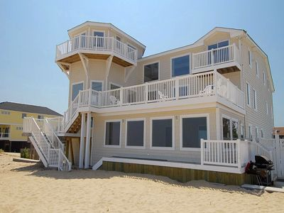 Sandbridge Beach Oceanfront Vacation Home Siebert Realty Virginia Va Absolutely Stellar 3204 Sandfiddler Road Travel Pinterest