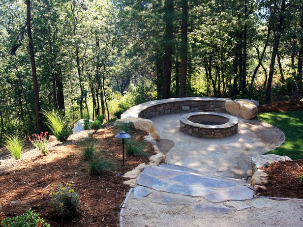 Love the rustic setting...could this be made with the rocks lying around the backyard?