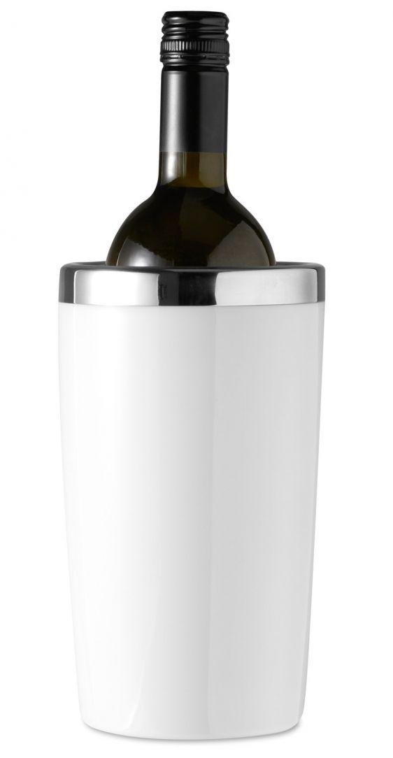 Contenitore refrigerante per bottiglia con doppio strato,esterno in plastica ed interno in acciaio €13.96 IVA Inclusa