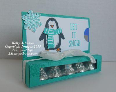 Cute Secret Santa gift made by Kelly Acheson