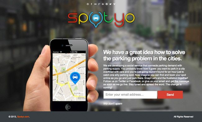 Solving the parking problem in our cities http://www.startupbird.com/solving-the-parking-problem/