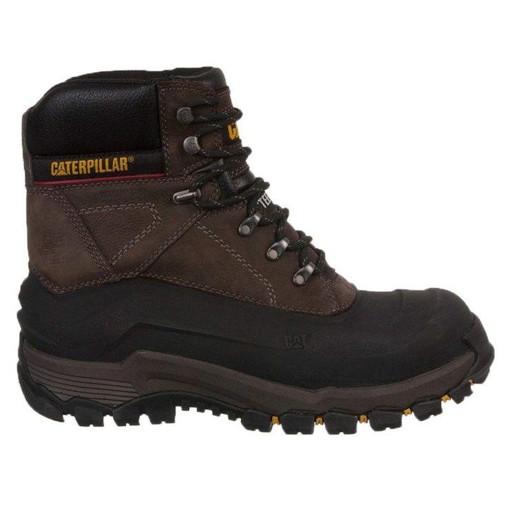 Caterpillar Men's Flexshell Waterproof Insulated Steel Toe Work Boots (Black Coffee) - 11.0 M
