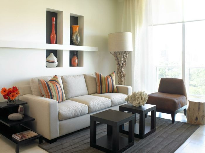 Kleine Zimmer einrichten - Frische Ideen für kleine Räume q - wohnzimmer ideen für kleine räume
