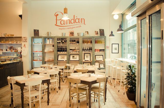 pandan caffetteria forno locale torino tavoli sedie emporio