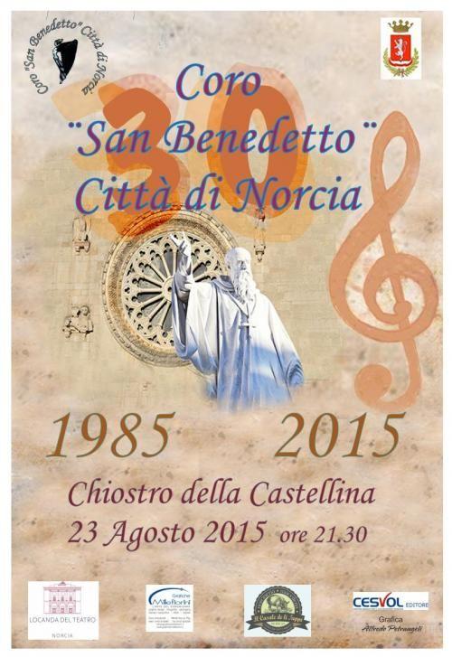 Musica al Museo con il Concerto del Coro San Benedetto Citta' di Norcia