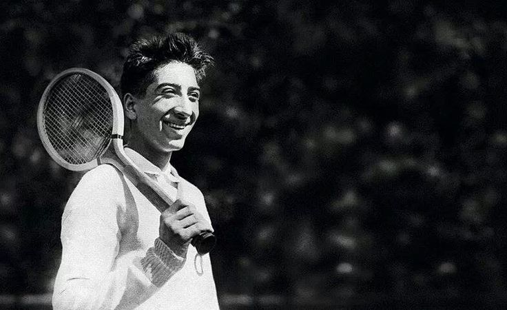 René Lacoste (1904-1996) was a French tennis player and businessman. Along with Jean Borotra, Jacques Brugnon, and Henri Cochet, Lacoste was one of The Four Musketeers, French tennis stars who dominated the game in the 1920s and early 1930s, winning 20 Grand Slam singles and 23 Grand Slam doubles championships between them, and leading France to six straight Davis Cup titles (1927-32).
