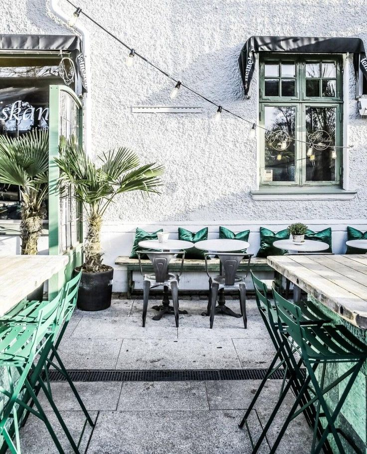 Outdoor Cafe, Outdoor Seating, Cafe Seating, Outdoor Kitchen Patio, Outdoor  Spaces, Terrace Cafe, Terrace Restaurant, Outdoor Restaurant, Restaurant  Design