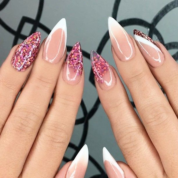 "2,065 Likes, 6 Comments - NAIL TRENDS (@the.glitter.nail) on Instagram: "": Picture and Nail Design by •• @jasnails •• Follow @jasnails for more gorgeous nail art…"""