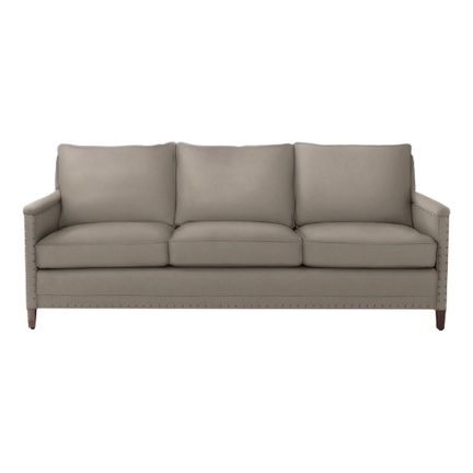 I love this neutral.  And the simple shape. Spruce Street Sofa - Upholstered #serenaandlily