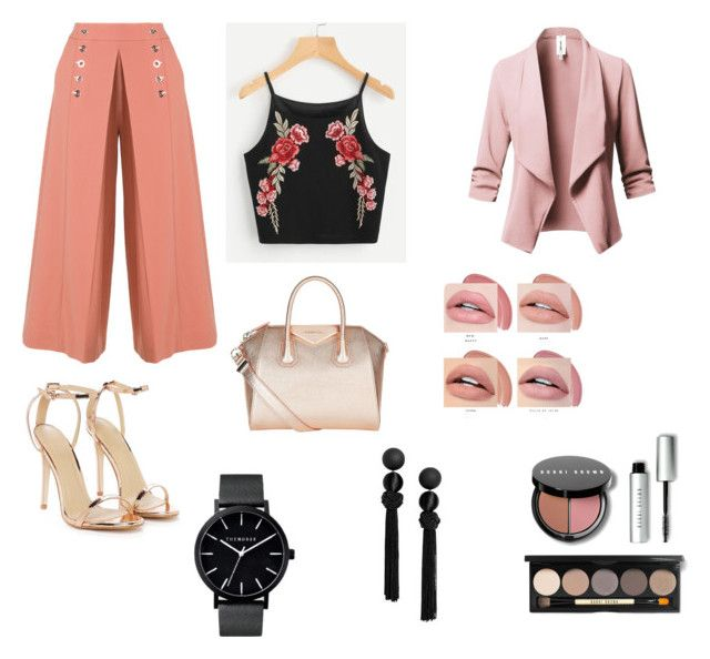 """""""Untitled #7"""" by niken-laras on Polyvore featuring Alexander Wang, Nasty Gal, Givenchy and Bobbi Brown Cosmetics"""