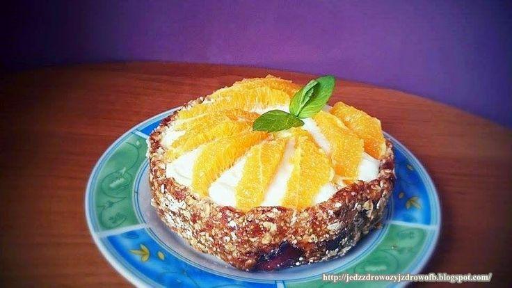 Jedz zdrowo żyj zdrowo: Ciasto z daktyli bez pieczenia