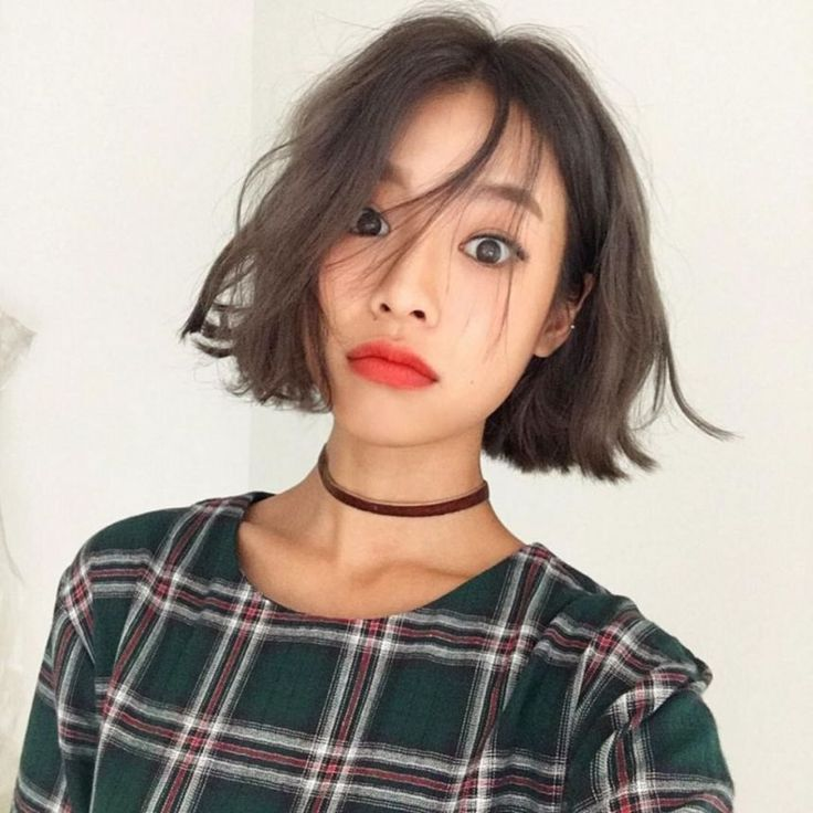 Pretty Korean Short Hairstyle For Women Fashions New Site Coiffure Coreenne Jolie Coiffure Coiffure