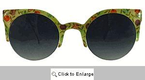 Coquette Cat Eye Sunglasses - 279 Pink Calico