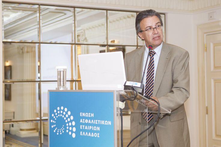Χαιρετισμός Συνηγόρου του Καταναλωτή, κου Ευάγγελου Ζερβέα, σε εκδήλωση της Ένωσης Ασφαλιστικών Εταιρειών Ελλάδας με θέμα: «Ασφάλιση νομικής προστασίας: Νέες προκλήσεις, νέοι θεσμοί»