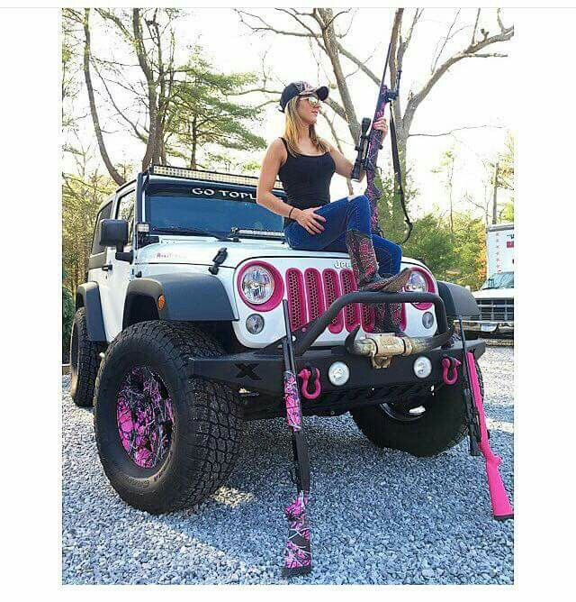 Silly boys jeeps are for girls #muddygirl #jeep #countrygirl