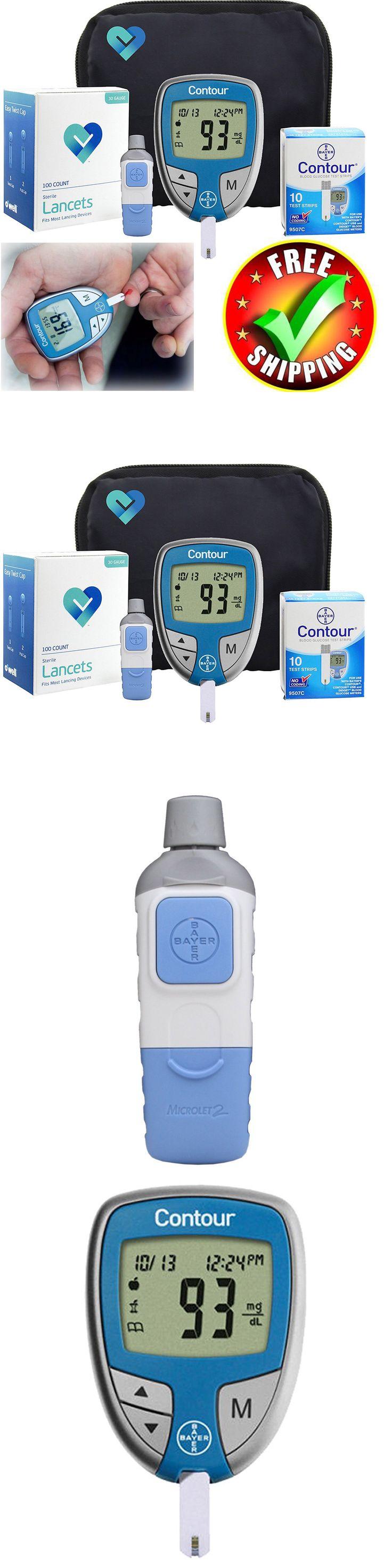 Glucose Monitors: Diabetes Test Kit Diabetic Tester Strip Lancet Blood Glucose Meter Sugar Machine -> BUY IT NOW ONLY: $47.99 on eBay!