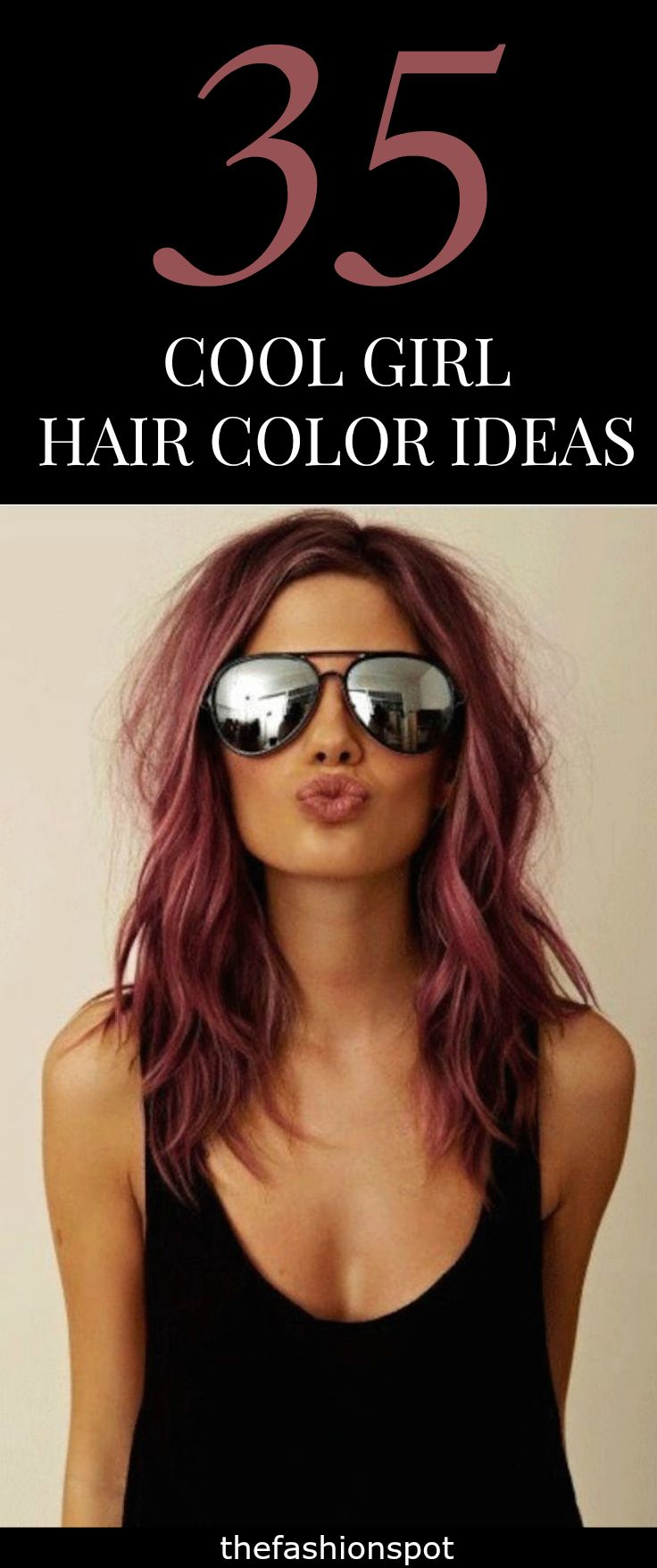 35 Cool Hair Color Ideas To Try In 2017