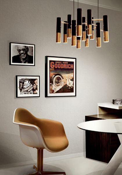 Ike Suspension Lamp | Unique Vintage Lamps