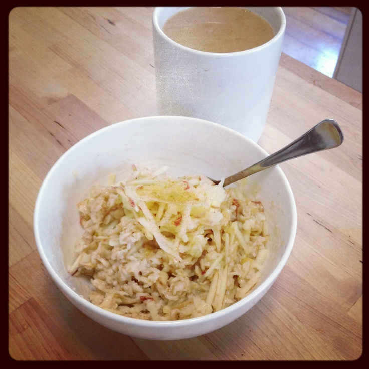 Michelle Bridges 12WBT porridge with apple cinnamon - amazing!