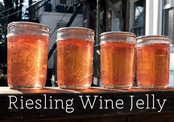 Riesling Wine Jelly Recipe - Putting Up With Erin