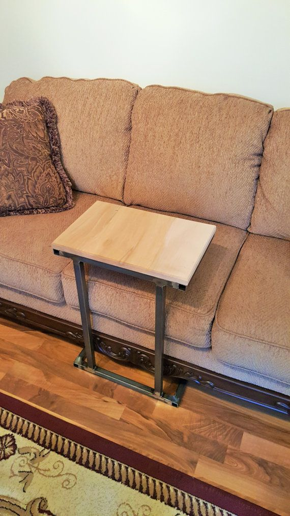 """Modern Table, Coffee Table, Side Table, """"C"""" Table, Industrial furniture"""