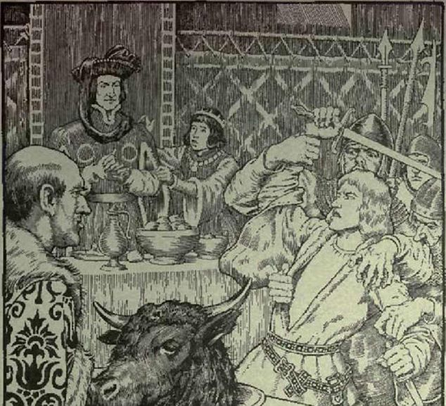 """History is Everywhere -- Game of Thrones Red Wedding based on Black Dinner at Edinburgh Castle in  1440."
