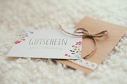 Craftpaper Card diy photography Studio Gutschein für ein Fotoshooting ab 35 €